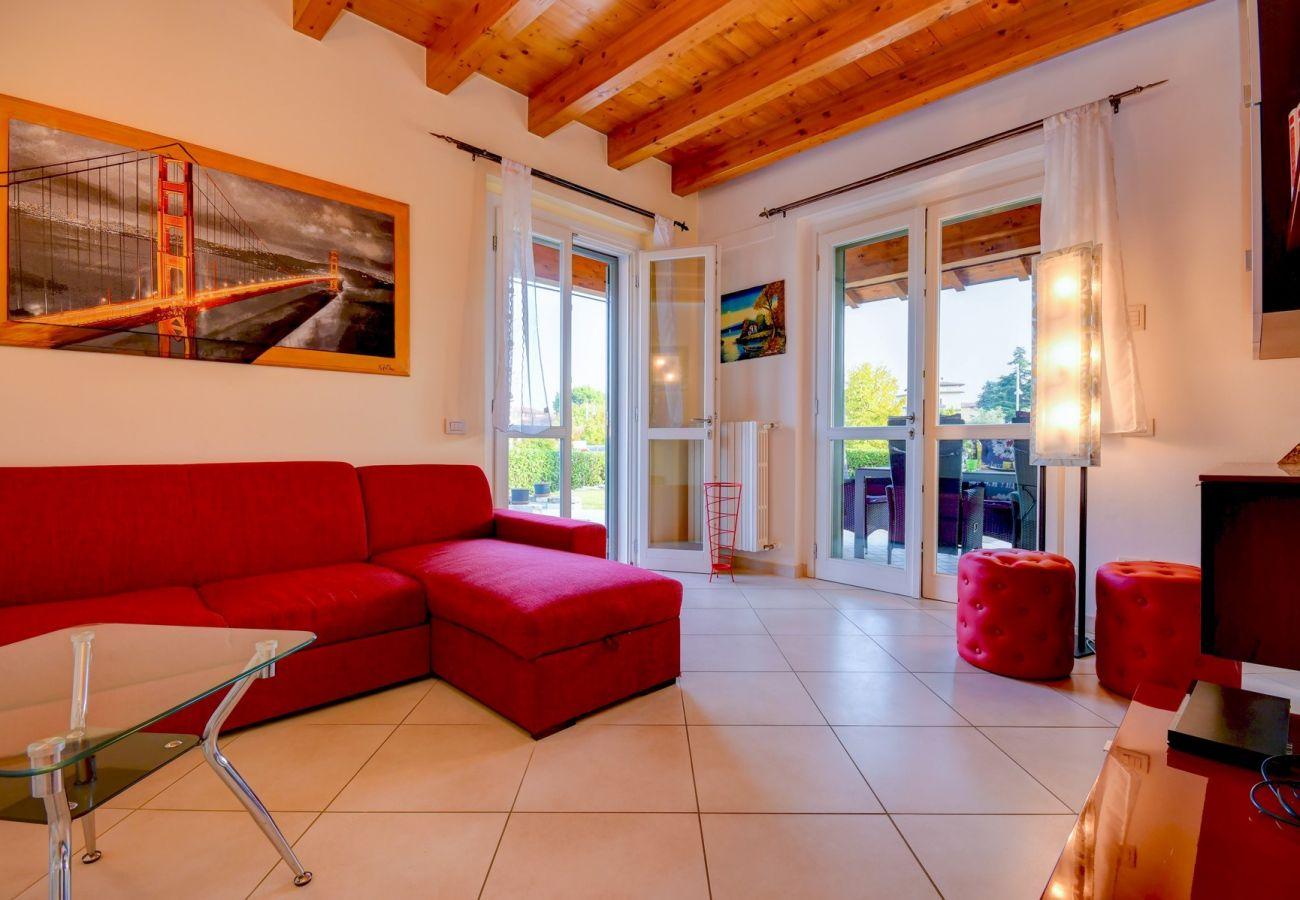 Villetta a Moniga del Garda - Villa Orange Moniga