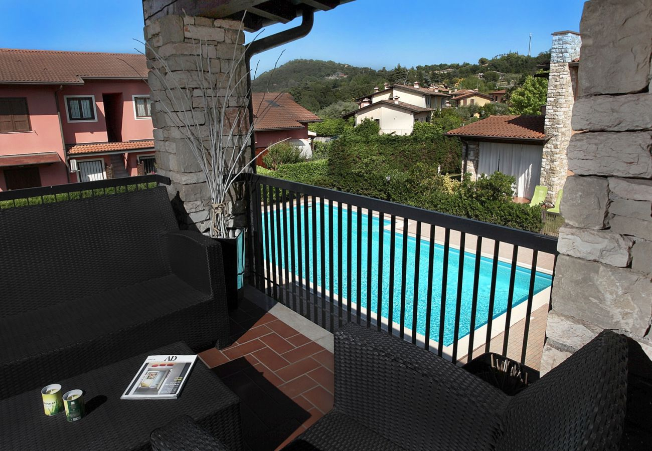 Ferienwohnung mit Pool in Manerba del Garda