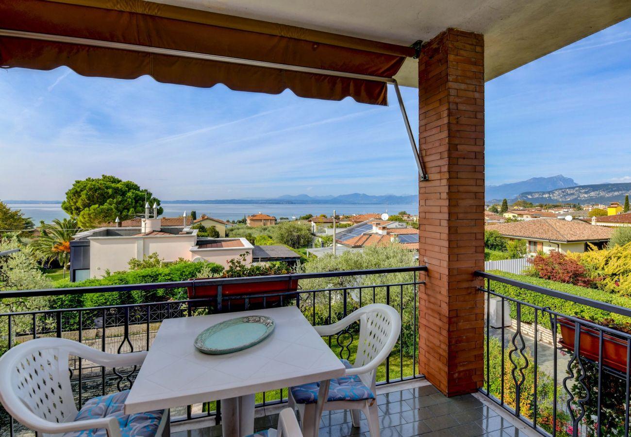 Ferienwohnung in Bardolino - Casa Titti sopra