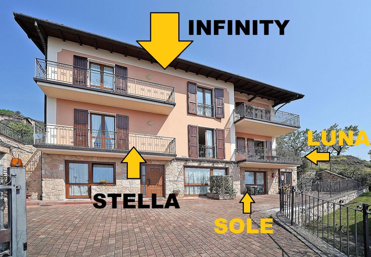 Ferienwohnung in Tignale - Infinity