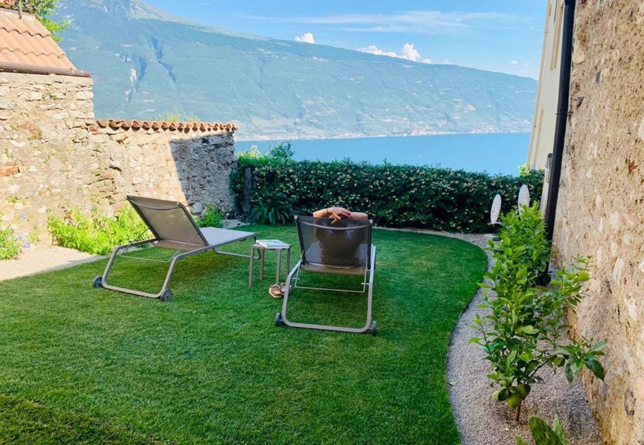 Ferienwohnung in Tignale - Rustico Minichètto - La Vigna
