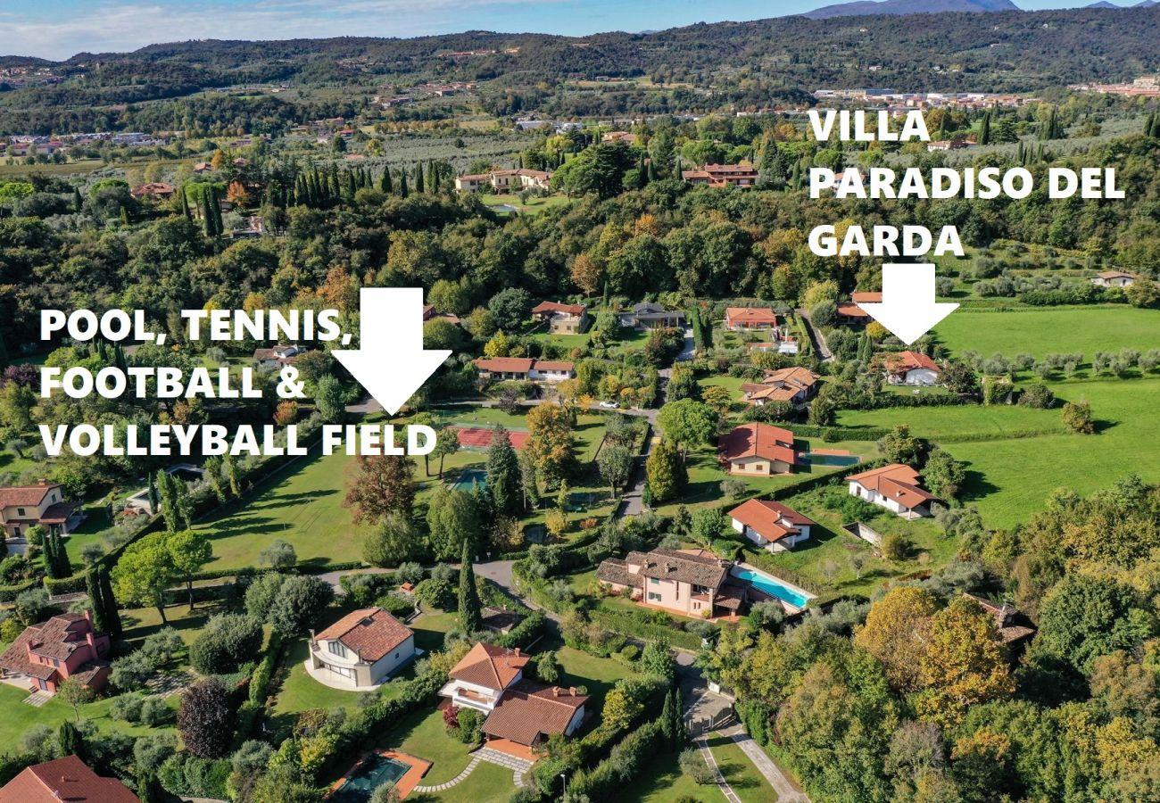 Villa in San Felice del Benaco - Villa Oasi del Paradiso