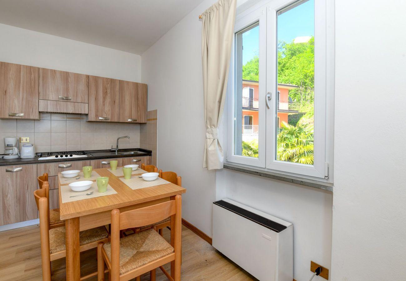 Ferienwohnung in Tignale - Piccolo Ragno 4 Typ Balcony